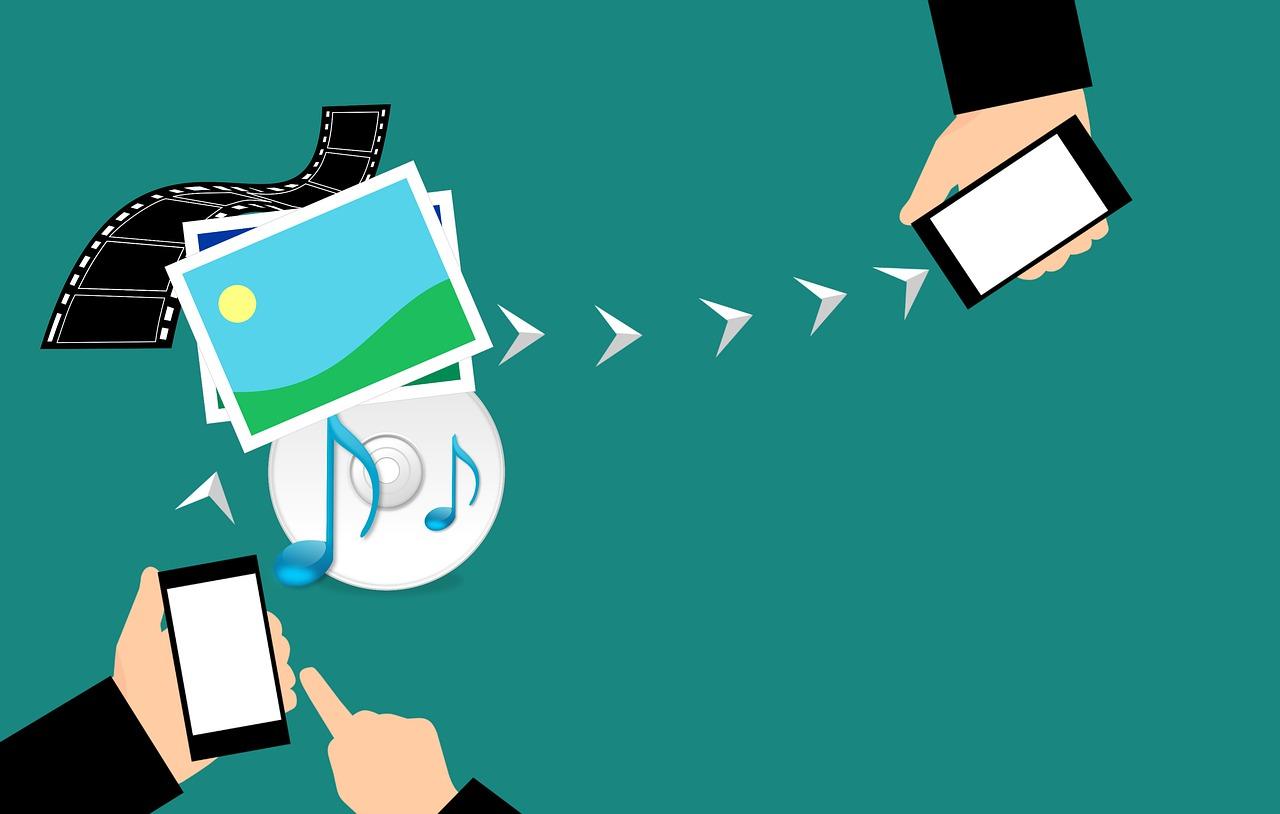 передача данных с телефона на телефон