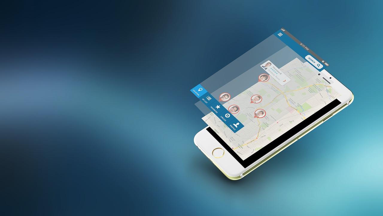 iphone на карте