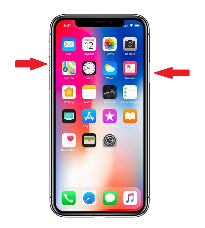Инструкция для iphone X