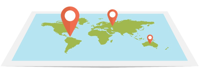 координаты GPS iPhone